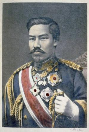L'Empereur Meiji du Japon en 1904 - Library of Congress