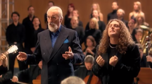 Rhapsody of Fire et Christopher Lee