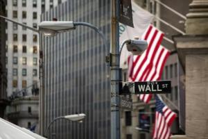 La bourse de Wall Street à New-York