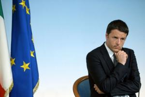Matteo Renzi ©Photo FILIPPO MONTEFORTE, AFP
