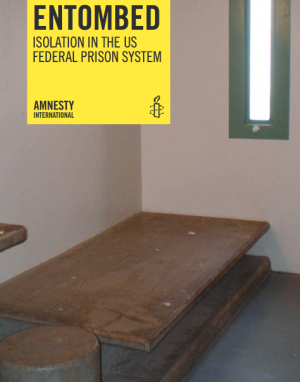 Couverture du rapport d'Amnesty International