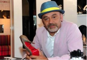 Le chausseur français Christian Louboutin, le 28 avril 2010 à Hollywood (© AFP)