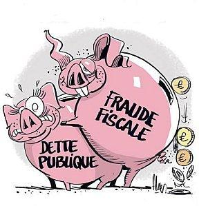 Illustration satirique du site du syndicat UNSA Finances publiques
