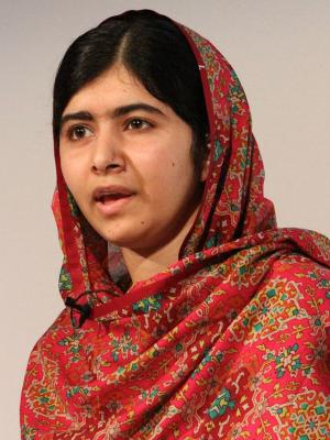 Malala ©Crown Copyright/Open Government License/Creative Commons - Attribution