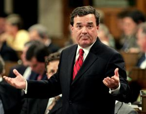 Le Ministre canadien des finances, Jim Flaherty