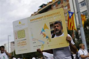 A la dernière Diada, le 11 septembre 2015.<br />