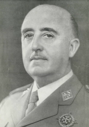 Francisco Franco en 1964.