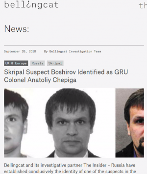 Le site de Bellingcat<br />