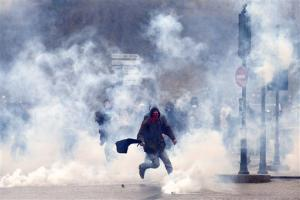 Manifestations anti-CPE en mars 2006<br />