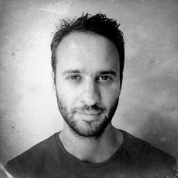 Le journaliste français Mathias Depardon. Photo illustrant son compte Twitter.