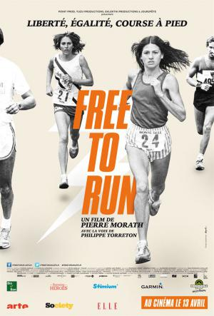 "Affiche du documentaire ""Free to run"" de Pierre Morath. ©DR"