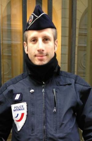 Le policier français Xavier Jugelé, assassiné à Paris le 20 avril 2017