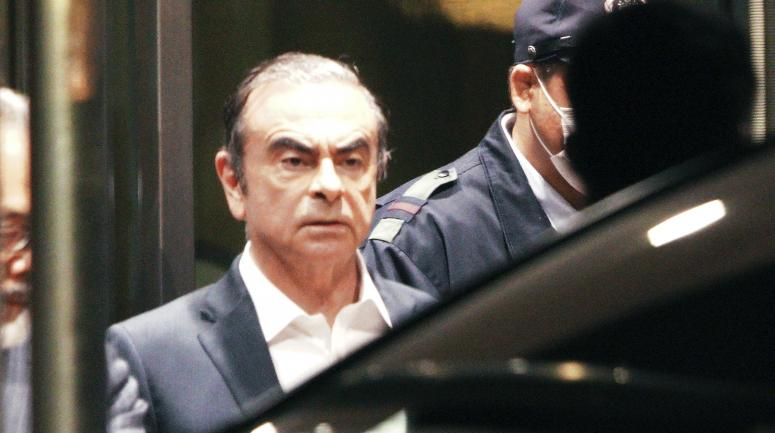 Carlos Ghosn, le 25 avril 2019