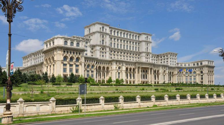 Le Parlement roumain à Bucarest