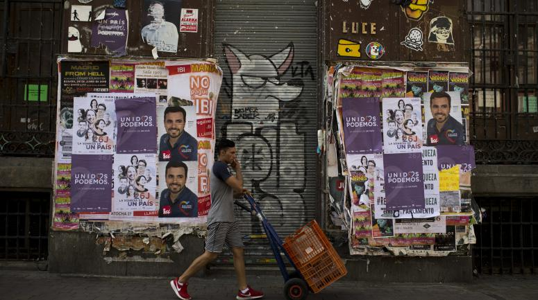A Madrid, le 10 juin dernier.<br />