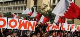 Manifestations contre le roi Al-Khalifa du Bahreïn / Photo AFP