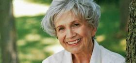 L'auteure canadienne Alice Munro.