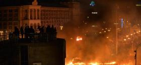 Place de l'indépendance à Kiev /Photo AFP