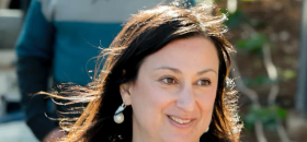 Daphne Caruana Galizia, journaliste maltaise, assassinée en octobre 2017.
