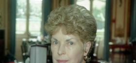 Ruth Rendell en septembre 1995 à Londres.