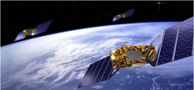Satellites Galileo en orbite.