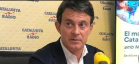 Manuel Valls sur Catalunya Radio le 22 mai.<br />